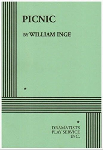 PICNIC - A SUMMER ROMANCE - 1983 SCRIPT BY WILLIAM INGE - PAPER BOUND