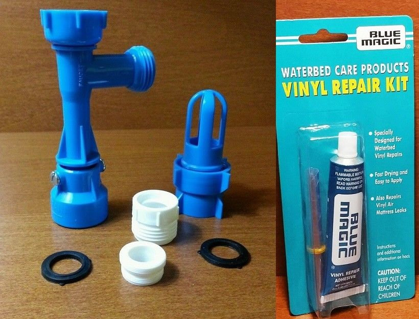 Waterbed Fill & Drain Kit with Patch Repair Kit
