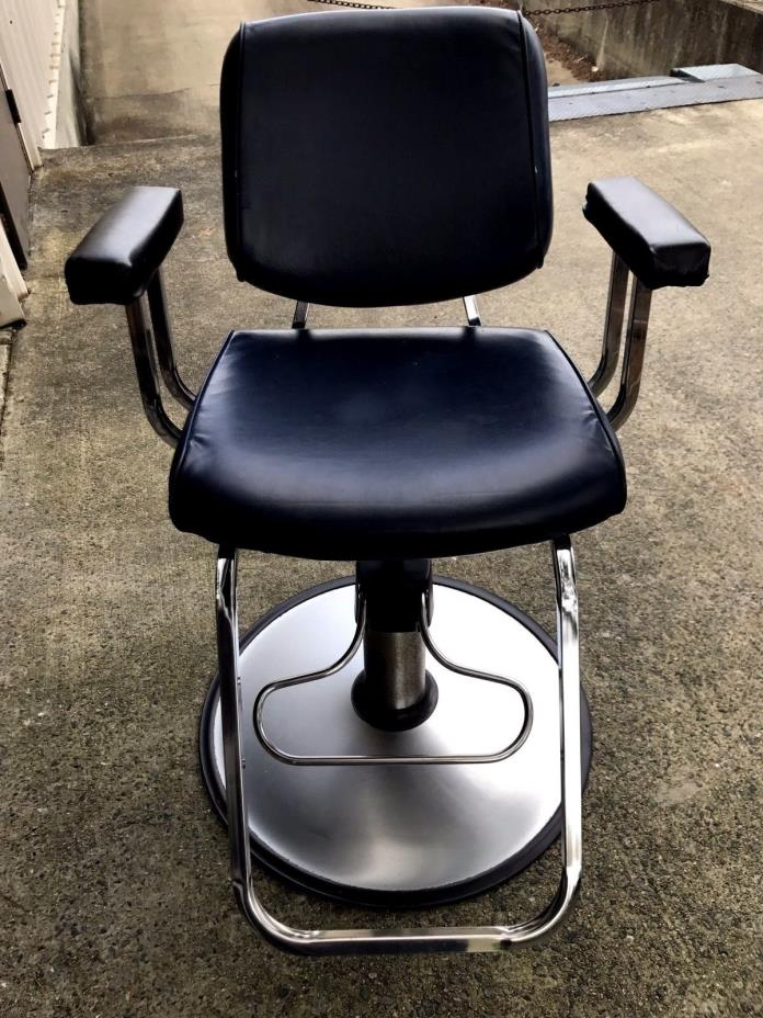 Lot of 2 Belvedere salon barber Chairs - Belvedere Barber Chair - Classifieds