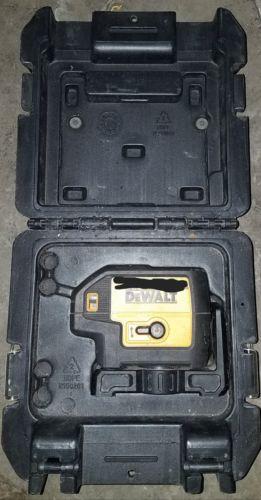 Dewalt DW085 Self Leveling 5 Beam Laser Pointer Laser Level