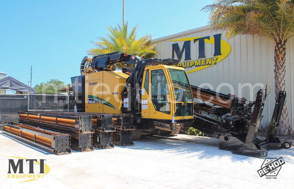 2013 Vermeer D100x140 Horizontal Directional Drill - MTI Equipment