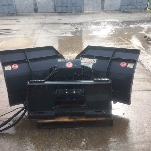 Skid Steer Attachment Snow Plow