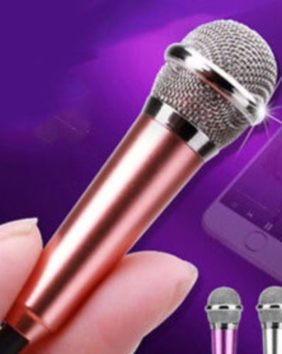 Super Mini Microphone for Phone Sing Song Karaoke Recording