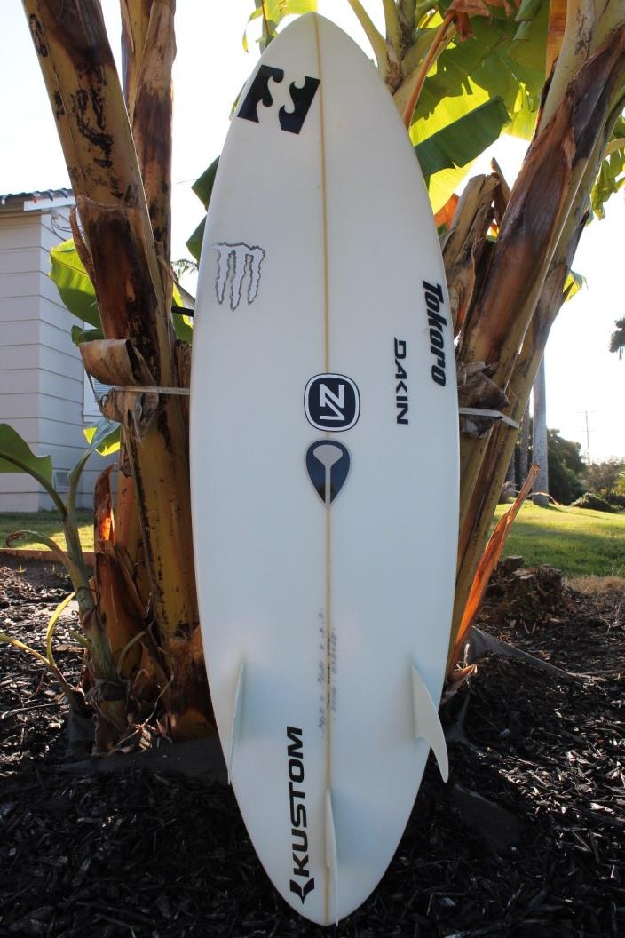 Andy Irons Surfboard Collectors Item. Tokoro Board Size 6'4
