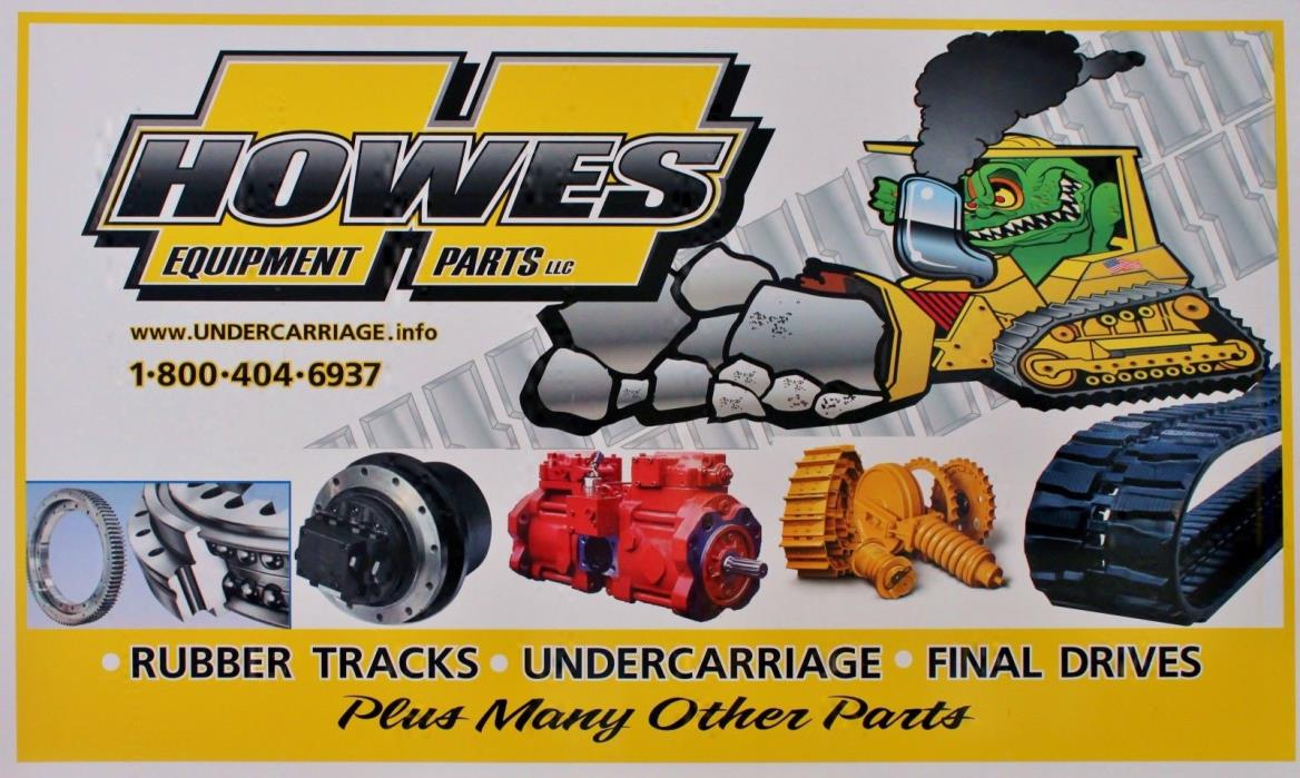 John Deere 10 bottom rolls ID512 for most 450 series undercarriage