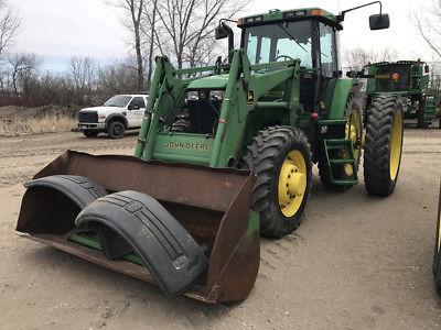 1998 John Deere 7810 Tractor Loader