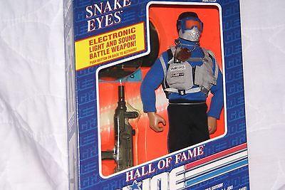 HASBRO 1991 HALL OF FAME GI JOE SNAKE EYES