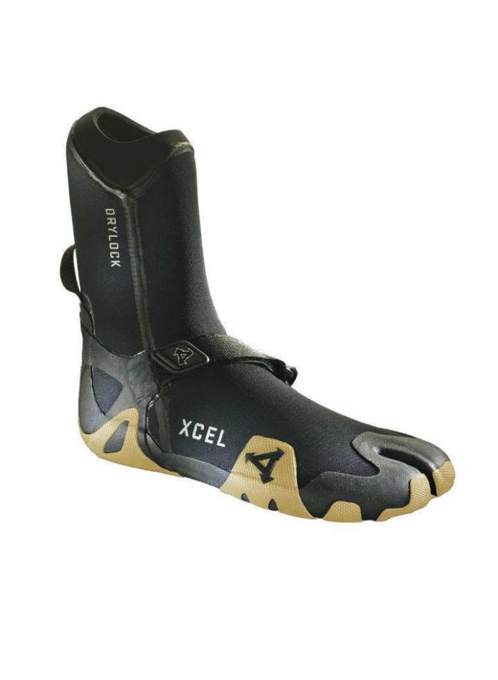 XCEL DRYLOCK SPLIT TOE BOOT 3MM GUM - Size 7