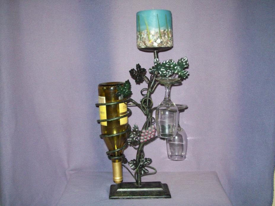 Wine & glass holder