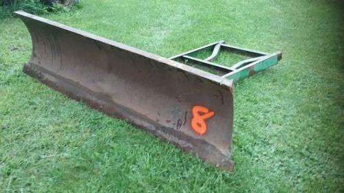 John Deere 8ft Snow Plow Blade Pusher model 82?