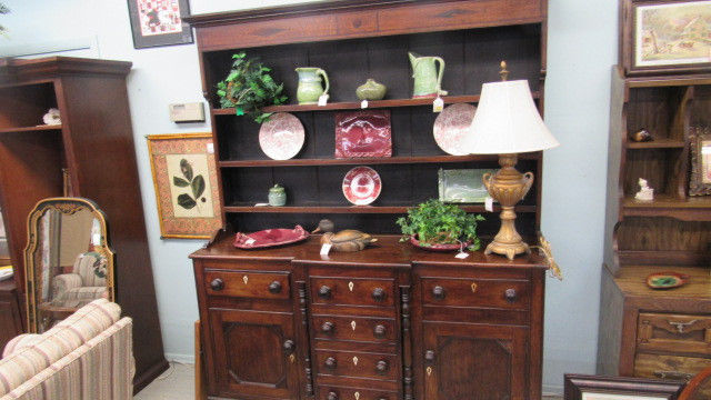 Exceptional Antique English Welsh Cupboard