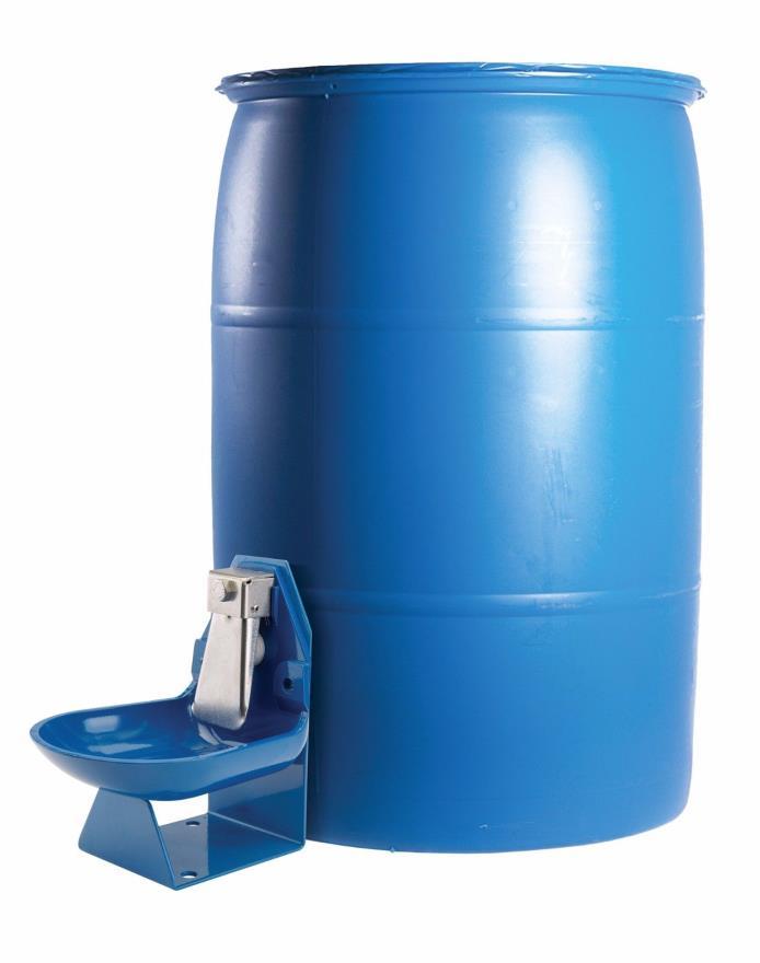 Trojan Gravity Flow Barrel Waterer (Barrel not included)