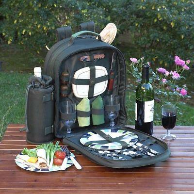 Picnic at Ascot Eco Picnic Basket Backpack for 2
