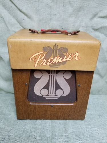 Vintage 1950's Premier 110 Tube Harp Guitar Amplifier