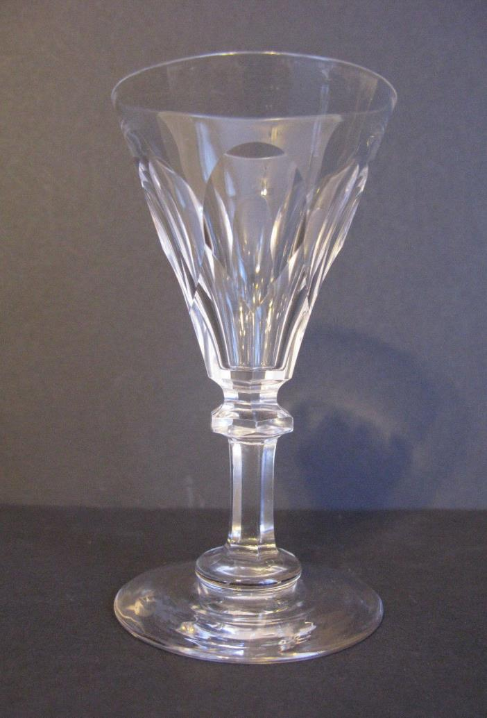 Antique Crystal 19th Century Fluted Sherry Port Glass       #2