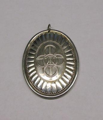 Vintage Towle 1975 Sterling Silver Cross Ornament ~ 24.9 grams ~ 7-A854