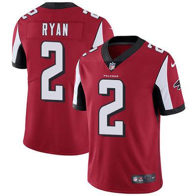 Atlanta Falcons #2 Matt Ryan Jersey Red Large (44)