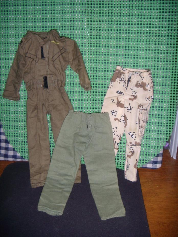 VINTAGE & MODERN GI JOE OUTFITS & DOG TAGS