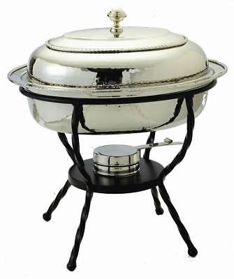 Oval Chafing Dish in Stainless Steel Finish [ID 128358]