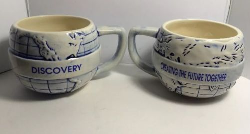 Two Discovery, Creating The Future Together Mugs.