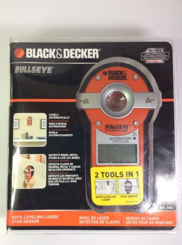 Black & Decker Auto Leveling Laser Line And Stud Finder Line New Sealed