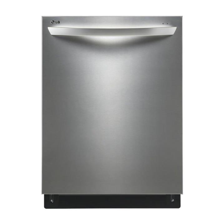 LG 44-Decibel Built-In Dishwasher Stainless Steel LDF7774ST