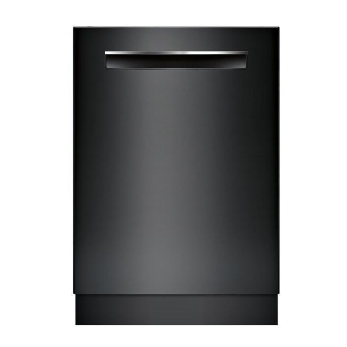 Bosch 500 Series 44-Decibel Built-In Dishwasher Black Stainless SHP865WF6N