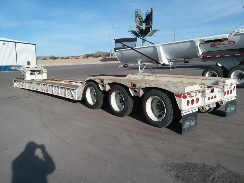 Lowboy Load King 2013 55 ton