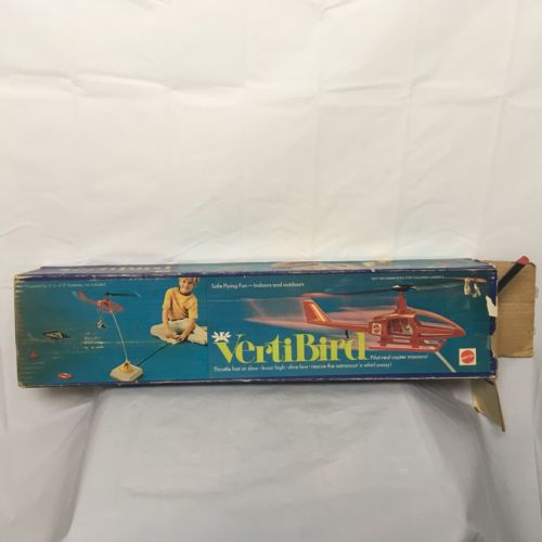 Vtg Vertibird Mattel Working With Minor Issues Rc Hellicopter