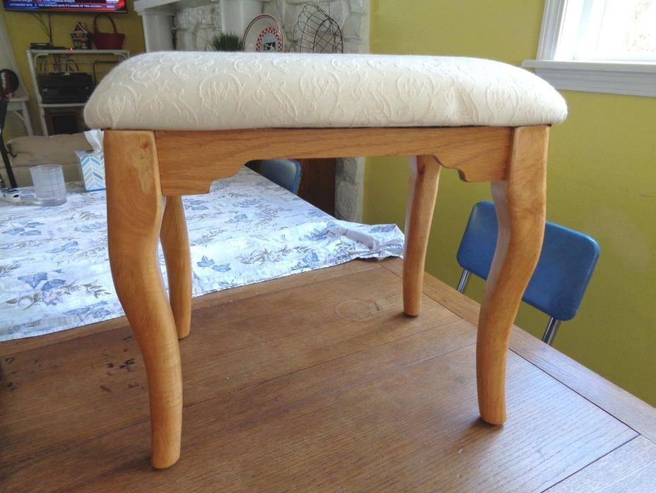 Upholstered  Vanity  /Bench