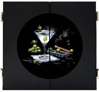 Michael Godard Olive Party Dart Cabinet [ID 65080]