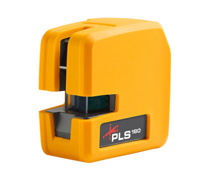PLS180 RED BEAM Self-Leveling Cross Laser Level System w/ Detector NIB