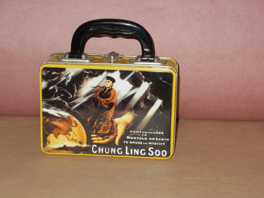 Chung Ling Soo Magic Theme Metal Lunch Box