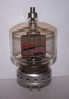Eimac 6569 Air Cooled Electron Power Amplifier Triode Tube