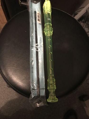 Gill Recorder Green Transparent