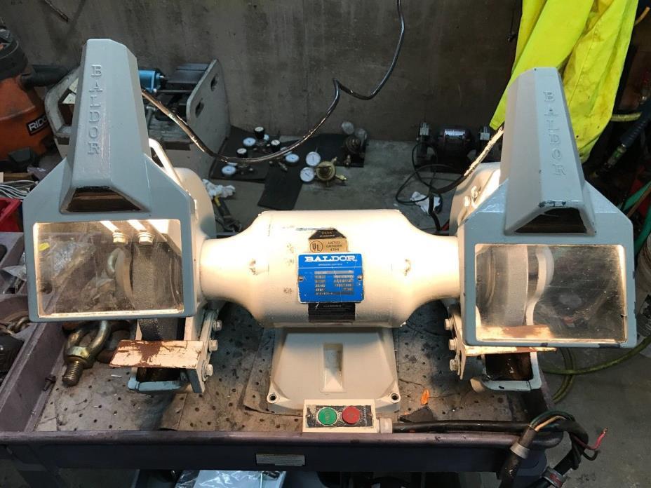 Baldor 1021WD Bench Grinder 3 Phase