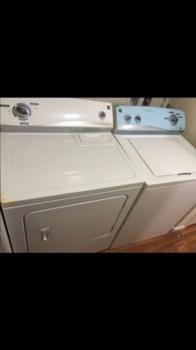 Kenmore Washer And Dryer Set! Reliable Seller!