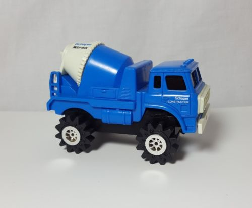 Vintage Schaper Stomper Cement Truck Construction Vehicle Redi Mix