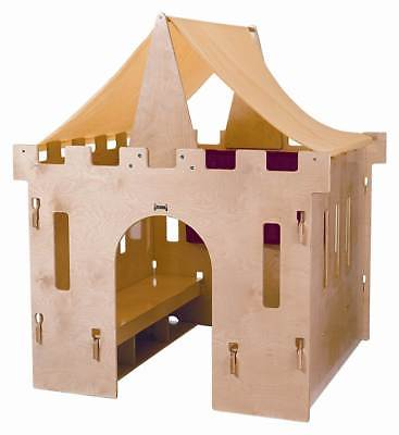 Jonti Craft Kydz King Castle w 2 Benches and Canopy Top [ID 9203]