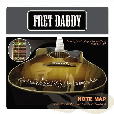 Capos The Fretboard Note Map For Electric/Acoustic Guitar