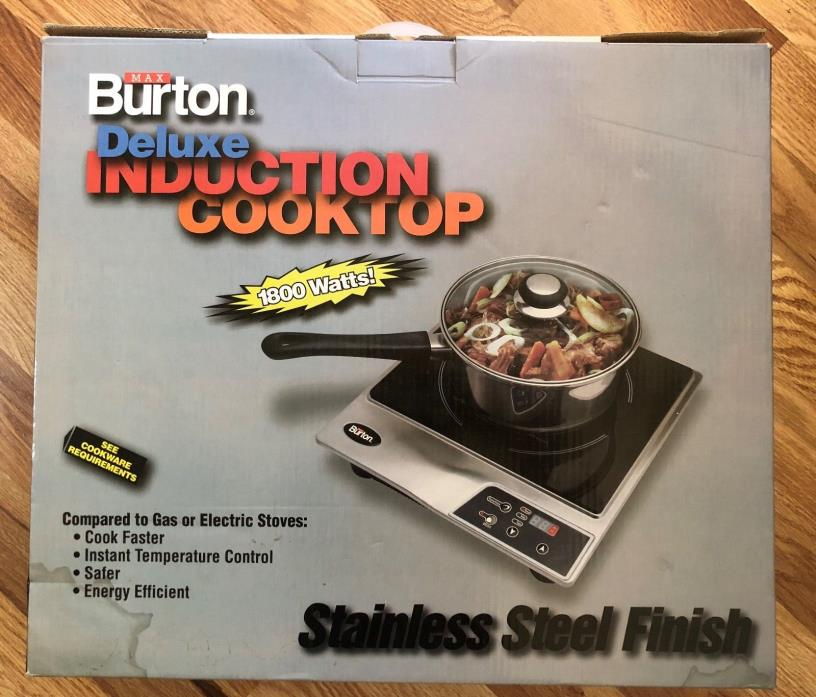 Max Burton 1800W Induction Cooktop / Hob