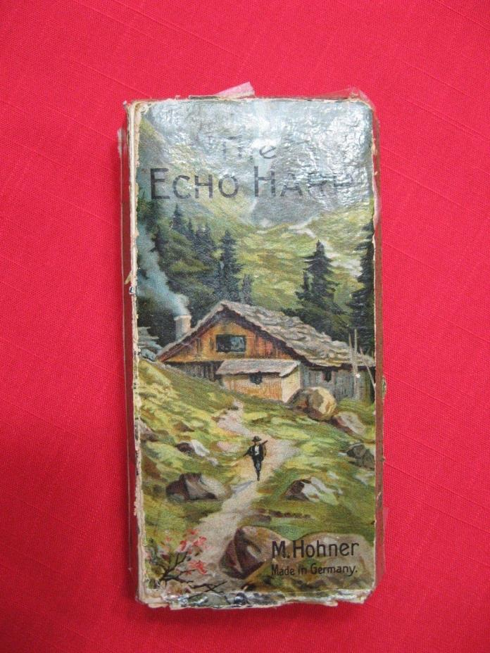 Hohner Echo Harp Double-Sided Harmonica GERMAN MADE