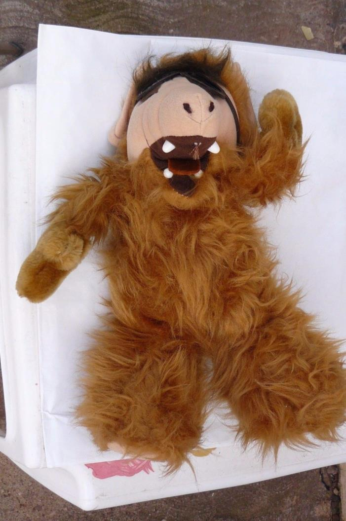 """Vintage 1988 """"ALF"""" PLUSH DOLL 12"""" with Googles, No tags"""