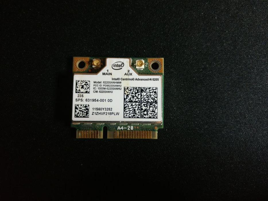 FRU 60Y3253 Lenovo Thinkpad Compatible WIFI Network Card