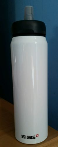 SIGG Active Sport Top Swiss Water Bottle White 0.75 Liter 25 oz. NEW