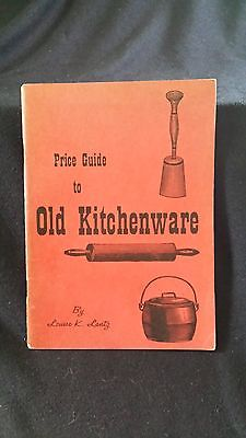 Vintage KITCHENWARE Reference & Price Guide..1968..OnlyCopyOnEbay..Louise Lantz