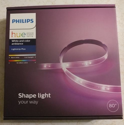 Philips Hue LIghtstrip Plus - White and Color Ambiance - 80