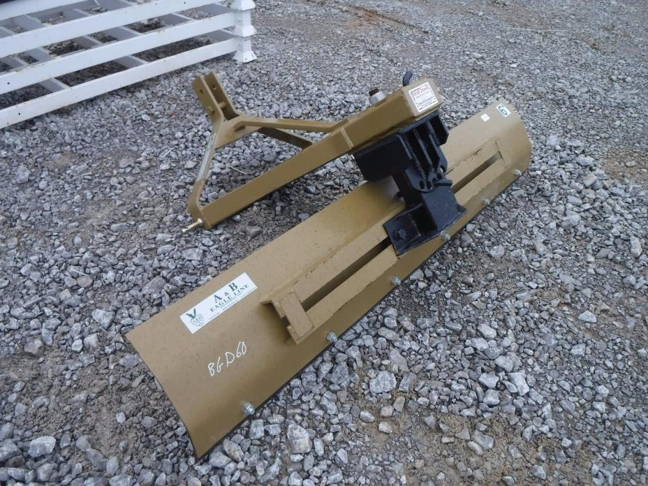 3 Point Hitch Tractor Attachment - A&B 6' Grading Ditching Blade - Ship $199