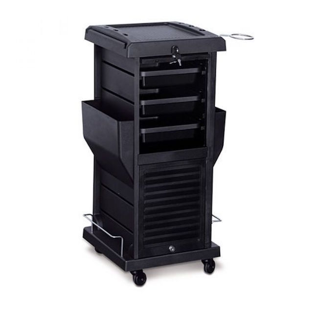 Trolley Cart Rolling Hair Salon Tattoo Locking Equipment Styling Station Drawers