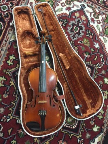 Old A. R. Seidel 4/4 Violin, For Repair Or Parts.